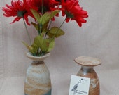 Stoneware bud vases