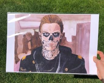 "Tate. 11 x 17"" print, bag and board."