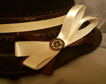 Steampunk Gear Hairbow