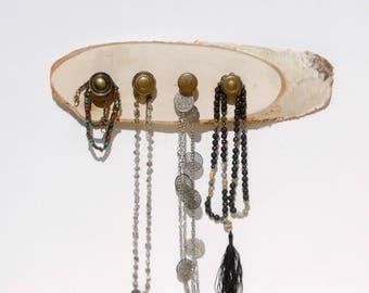 Repurposed Drawer Pull Jewelry Holder