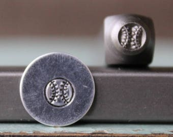 SUPPLY GUY 5mm /& 6mm Sport Ball Metal Punch 4 Stamp Set SGCH-236188245311