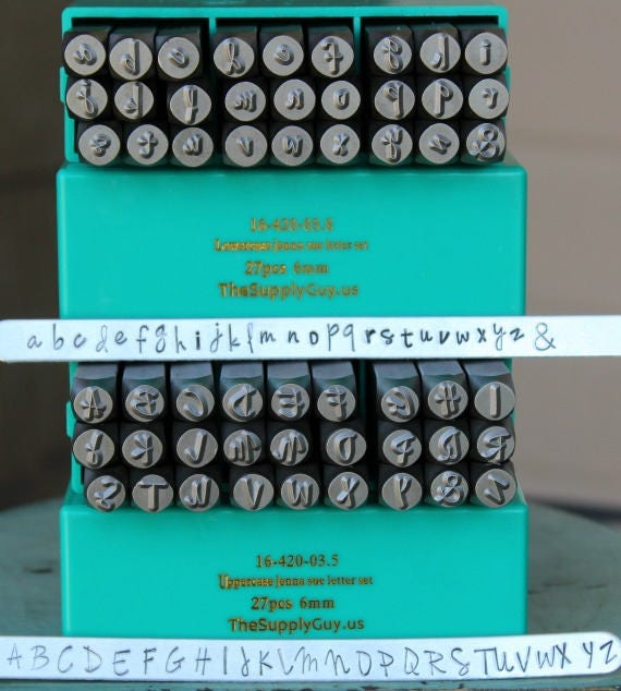 27 pces qualité coup lettres phrase taille 6mm//coup cachet coup chiffres a-z