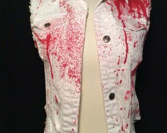 Blood Splatter Vest