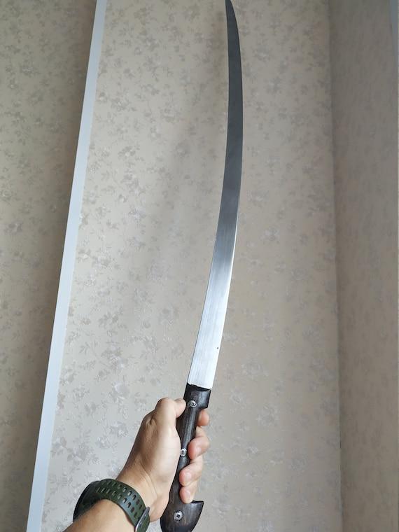 Wooden Shashqua Sword Wooden Shashka Sword Cossack sword Wooden training sword Shashka Cossack Saber