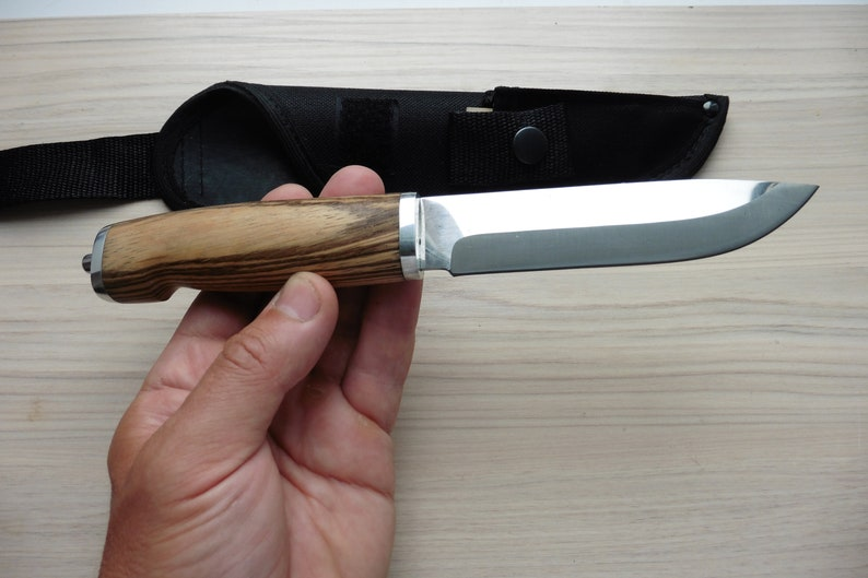 Finnish Puukko Russian Traditional knife, Handmade polished blade EDC and  camping knife, Traditional hunting & bushcraft knife Puukko