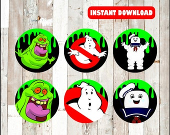 image relating to Ghostbusters Printable titled Ghostbusters social gathering Etsy