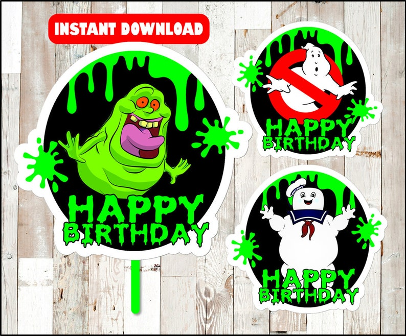 picture relating to Ghostbusters Printable called Ghostbusters centerpieces, Ghostbusters Printable centerpieces, Ghostbusters social gathering centerpieces Instantaneous down load