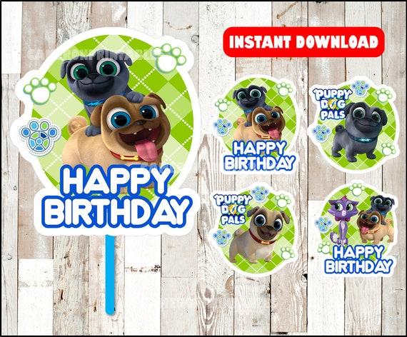 Puppy Dog Pals Centerpieces Puppy Dog Pals Printable Etsy
