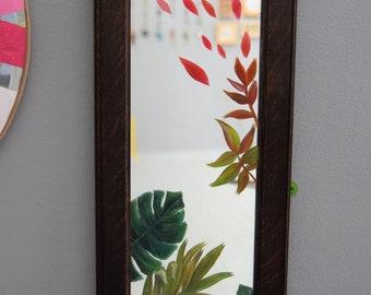 Hazel / Hand Painted Mirror
