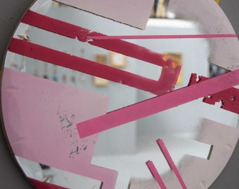 Gillian / Hand Painted Mirror