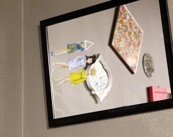 Little Women / Hand Painted Mirror