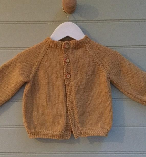 82b24e4fdd Baby cardigan hand knitted baby cardigan unisex baby