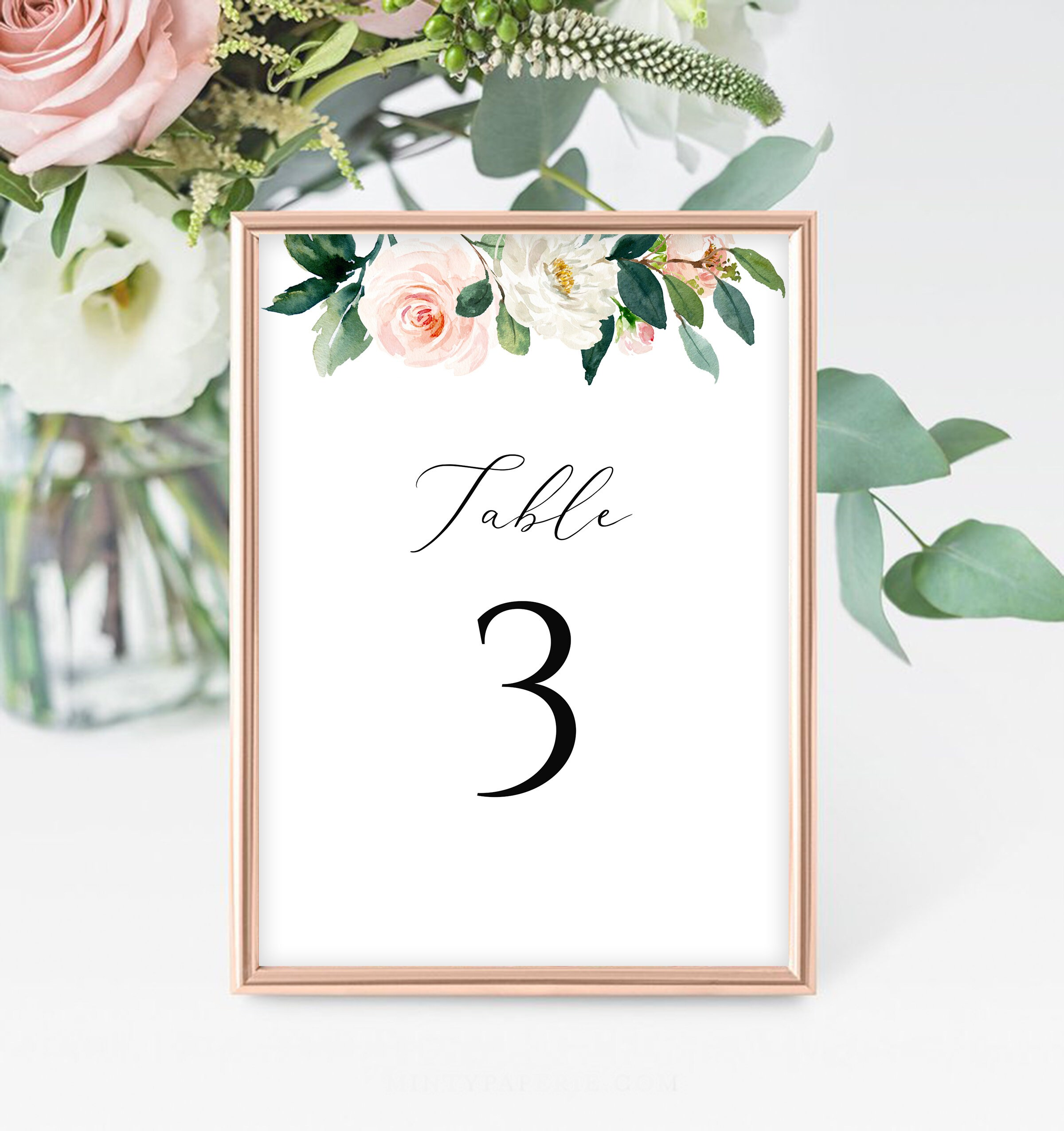 It's just an image of Printable Wedding Table Numbers with printable pdf