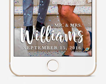 Wedding Snapchat Geofilter, Custom Snapchat Geofilter, Snapchat Geofilter Wedding, Snapchat Filter, Personalized Filter, Snapchat Wedding