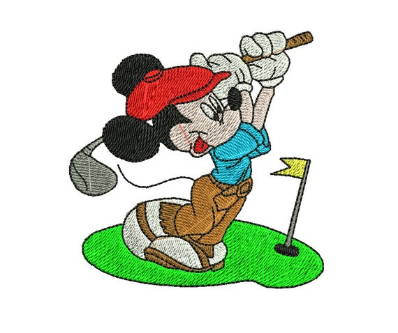 Mickey Mouse Embroidery Design Mickey Embroidery Design Etsy