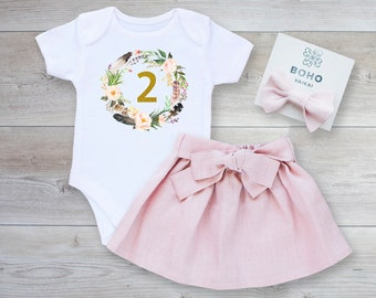 3940e41824 2nd birthday outfit girl
