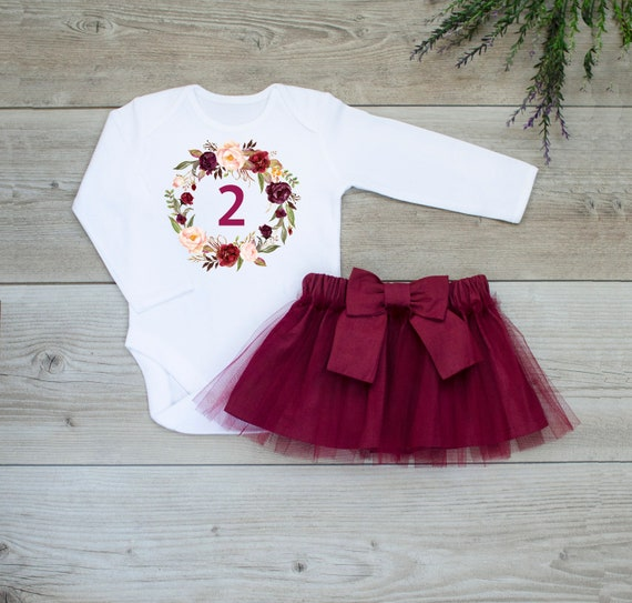 0ef065717 First birthday outfit girl 1st birthday outfit girl Floral   Etsy