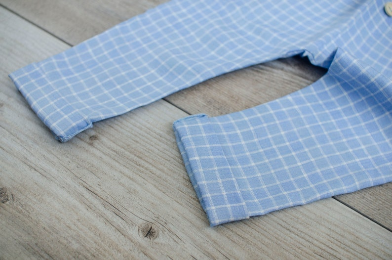 Baby Boy Pants Checked Blue Linen Pants Linen Pants for Kids Boy Linen Pants Summer clothes for baby Baptism clothes Toddler Pants