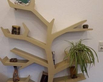Tree Bookshelf Etsy