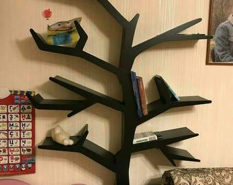 Shelf Tree Book Interior Bookshelf