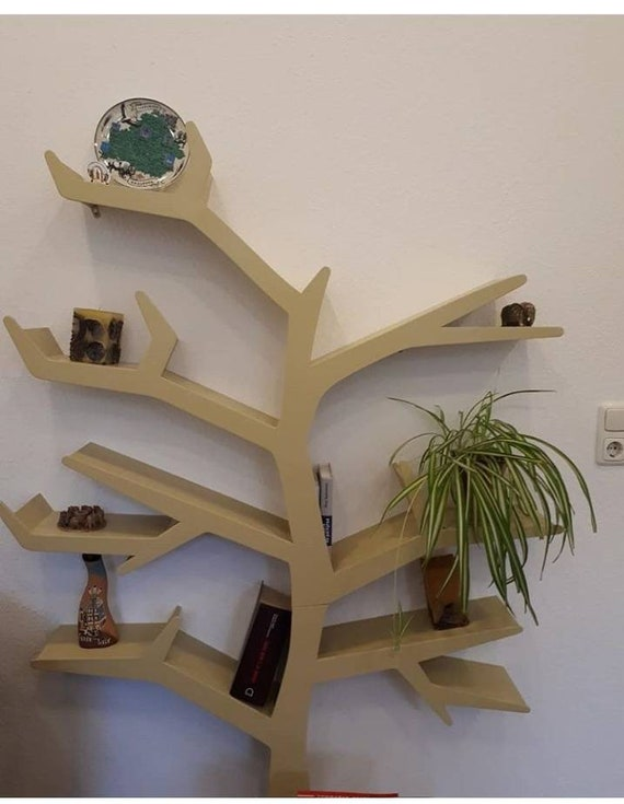 new product 7432e a0eda Tree Bookshelf, rustic bookshelf, tree shelf, nursery bookshelf, magic tree