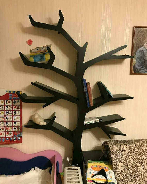 Shelf Tree Book Interior Bookshelf