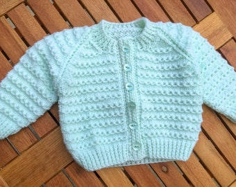 Minty Green Cardigan