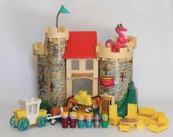 toy castle etsy