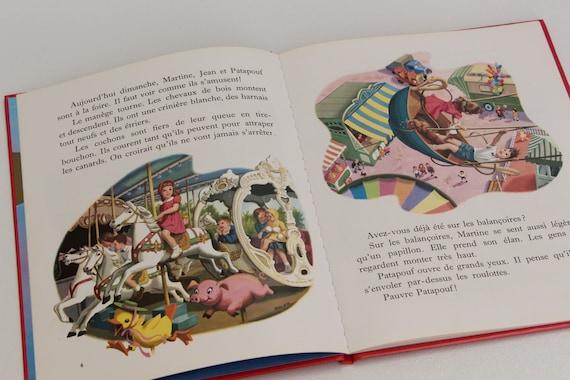 Martine A La Foire 1980 Livre Vintage En Francais Casterman Collection Farandole Marcel Marlier Et Gilbert Delahaye