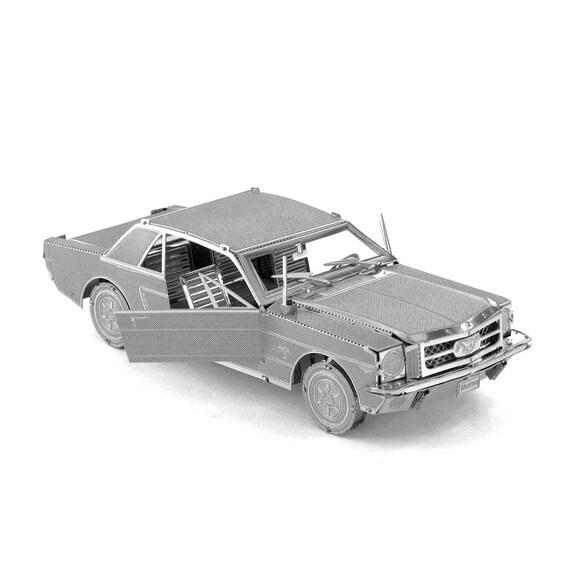 Fascinations Metal Earth 1965 Ford Mustang Red 3D Metal Model Kit