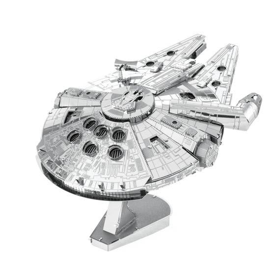 ICONX - Millennium Falcon 3D métal modèle kit/puzzle - ICX200B