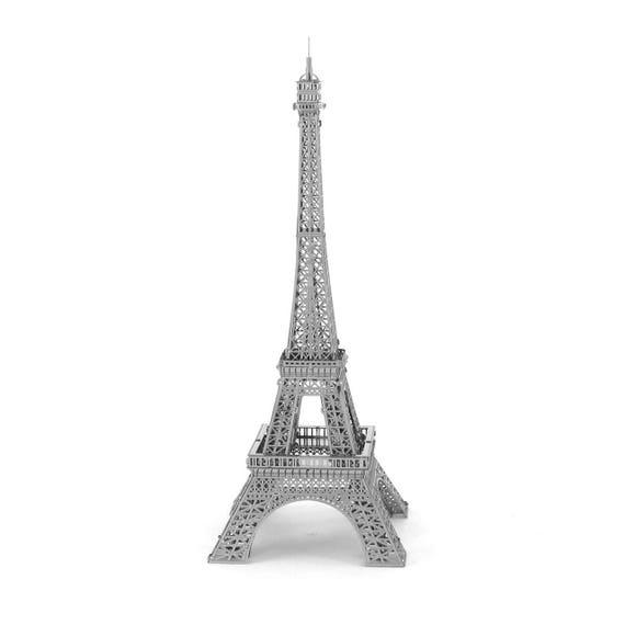 Eiffel Tower 3D Metal Constructing Model Kit Metal Earth Crafting Kid Toy Set