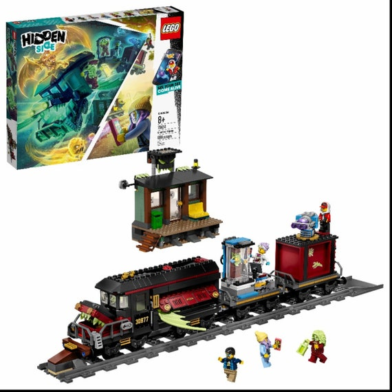 HIDDEN SIDE TRAIN GHOST CHUCK LEGO GENUINE MINI FIGURE HALLOWEEN 70424