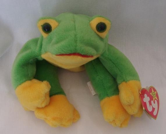 d7a1240c529 Beanie Babies Smoochy the Frog