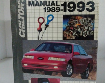 chilton repair manual 2005 ford escape