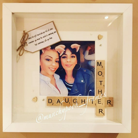 Mother And Daughter Frame Custom Photo Frame Mum And Daughter Etsy