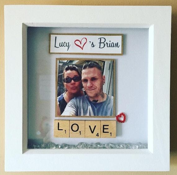 St-Valentin COPAIN COPINE mari femme deux coeurs Imprimer Cadeau