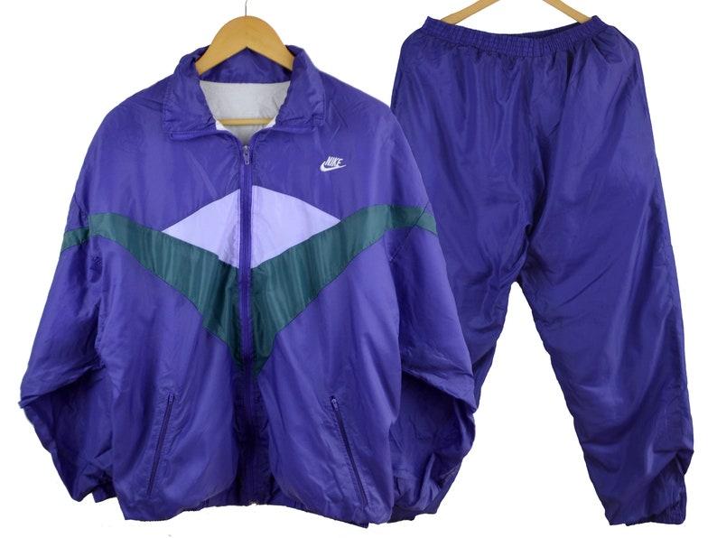 e7a3372d45 Nike Windbreaker Suit 80s Nike Tracksuit Women XL Vintage Windbreaker  Vintage Tracksuit 90s windbreaker Vintage Tracksuit jacket Nike Rare