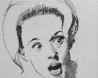 Portrait of Tippi Hedren