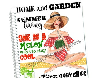 COVER GIRL HOME and Garden Magazine Planner Cover, Happy Planner Cover, Magazine Cover, Planner Cover, Magazine Stylish  Planner Cover, Cute