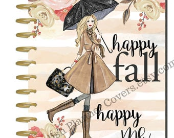 Happy Planner Cover, MAMBI Fashion Girl, Stylish Planner Covers, Create 365 Planner Cover, Disc-bound Planner Cover, Me and My Big Ideas