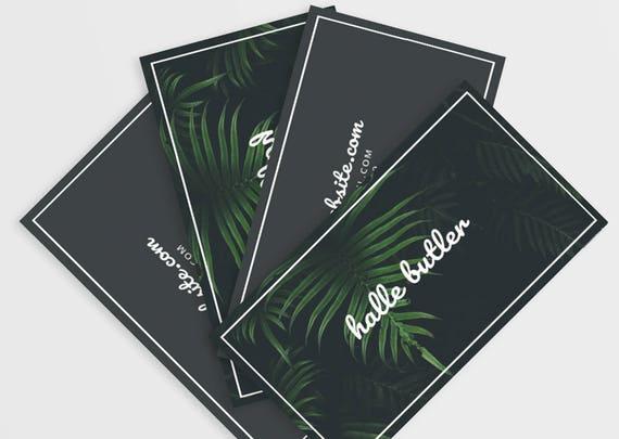 Visitenkarten Design Business Brandstempel Download Sofortiger Psd Vorlage Fotografie Visitenkarte Vorlage Moderne Visitenkarte