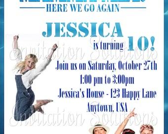 movie leap birthday party invitation ballerina leap movie etsy