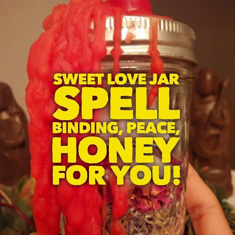 Spiritual Sweet Love Spell - Santeria - Sweet jar (love work) Spell -  Candle Work - Santeria - spiritual work - Palo