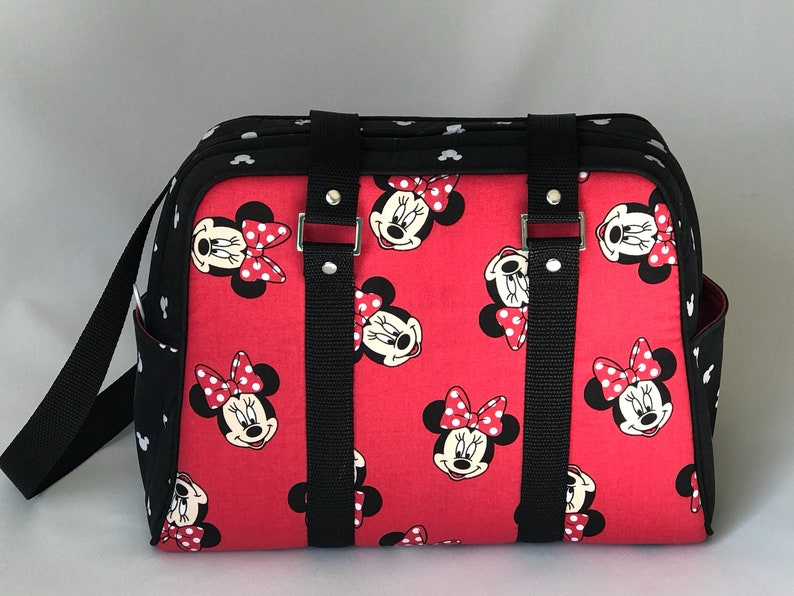 1cacc5e8ce Minnie Mouse Handbag / Disney Theme Purse / Disney tote / | Etsy