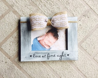 Love at first sight frame Baby nursery Frame