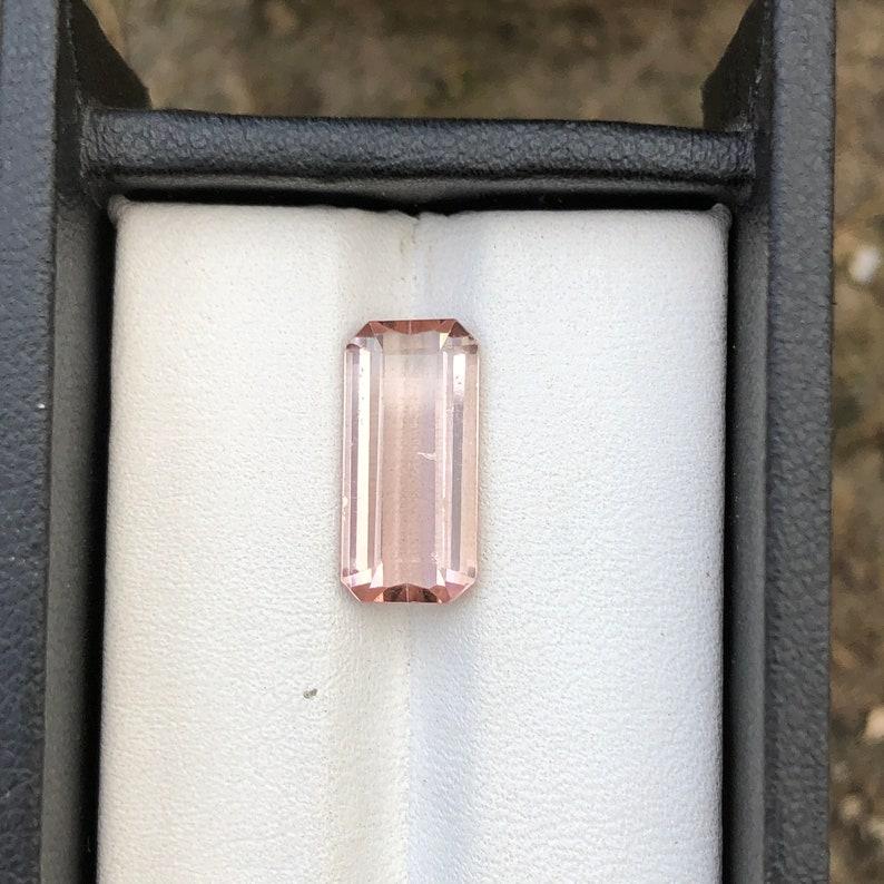 4.85 Carat light Pink colour Tourmalines