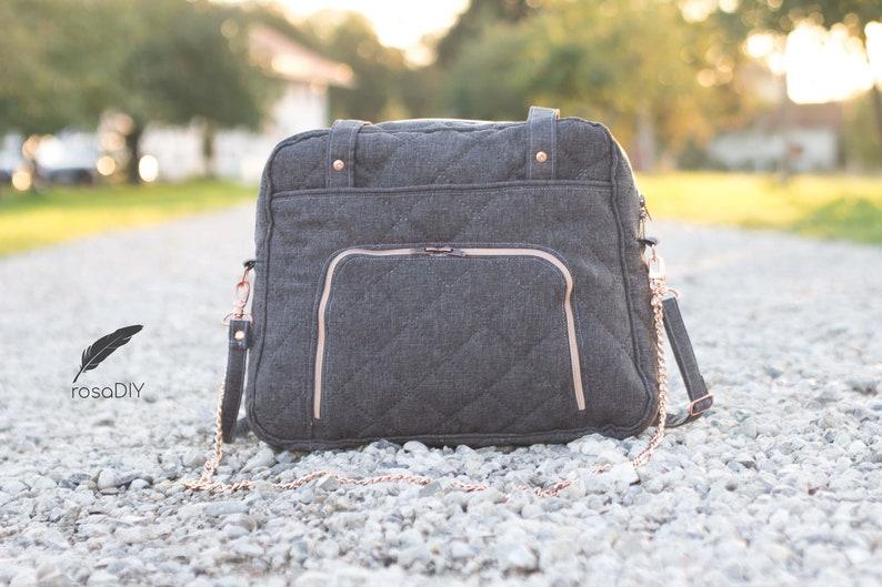 ebook 3 Rena Bag pattern in 2 sizes of Rosadiy image 0
