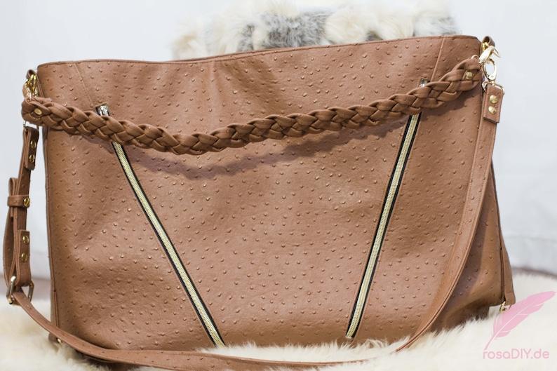 ebook 4 Luxy bag handbag pattern in 3 sizes of Rosadiy image 0