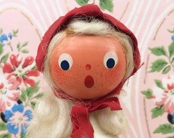 Polish Style Wooden Painted Doll